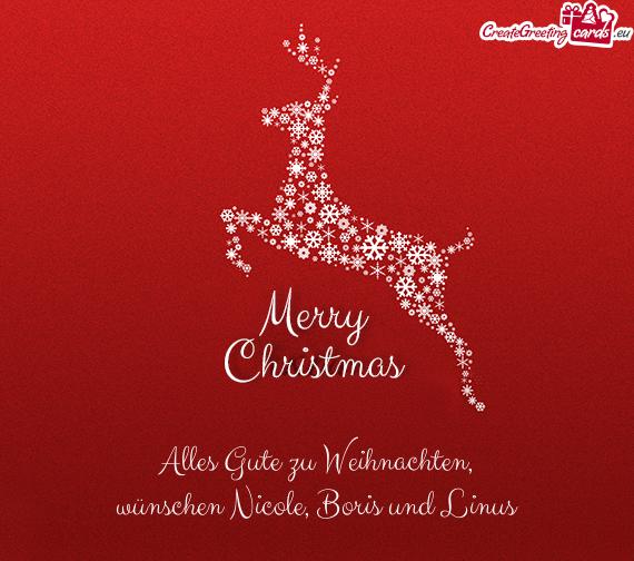 Alles Gute Zum Weihnachten.Alles Gute Zu Weihnachten Free Cards