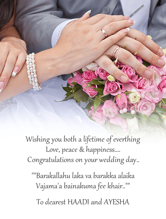 Congratulations On Your Wedding Day.Congratulations On Your Wedding Day Free Cards