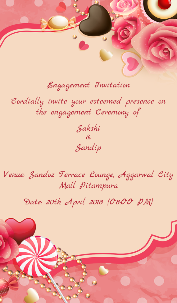 Engagement invitation cordially invite your esteemed free cards download card stopboris Choice Image
