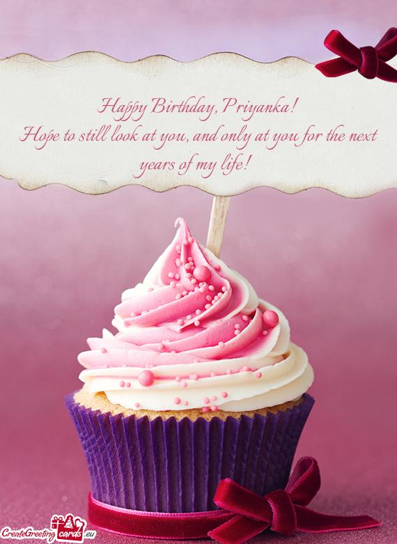 Happy Birthday Priyanka Free Cards