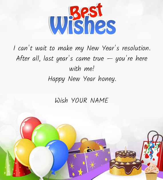 I can\'t wait to make my New Year\'s resolution - Free cards