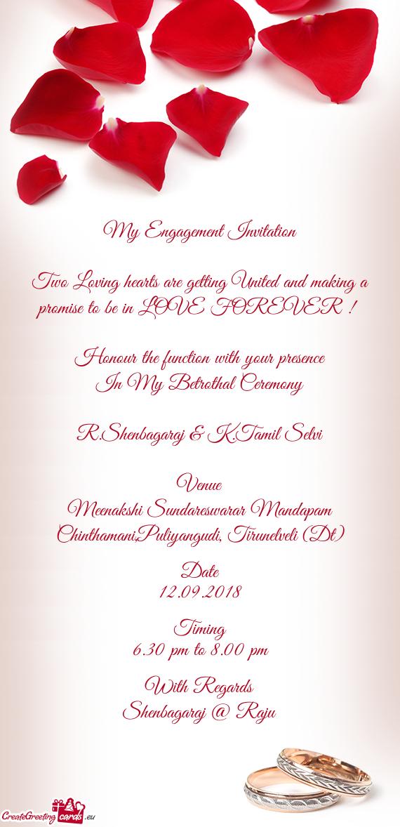 My Engagement Invitation Free Cards