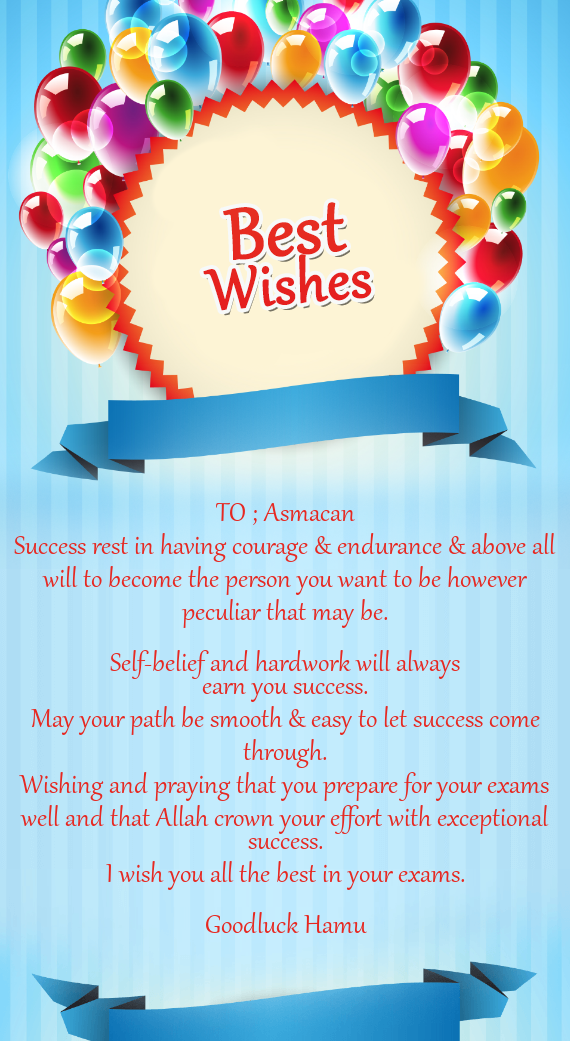 Success rest in having courage endurance above all will to download card m4hsunfo