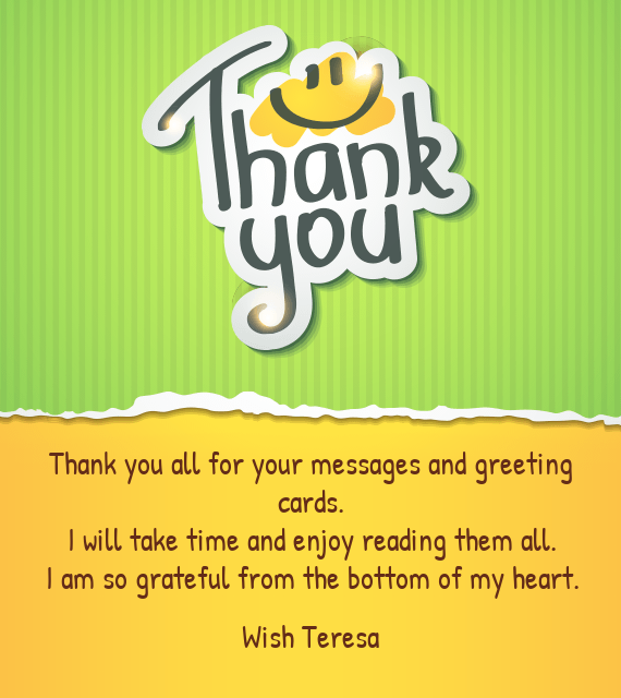 Thank you all for your messages and greeting cards free cards download card m4hsunfo