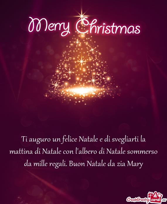 Regali Di Natale Per Zia.Ti Auguro Un Felice Natale E Di Svegliarti La Mattina Di